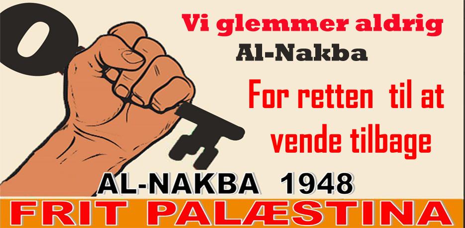 70-året For Al-Nakba Demonstration