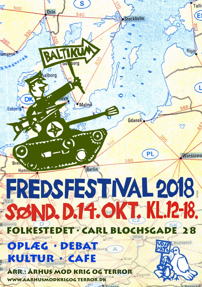 Fredsfestival Århus 2018
