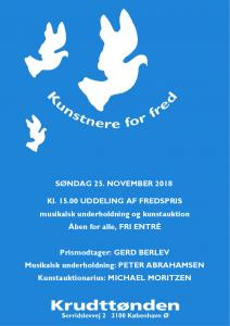 Fest og fredspris uddeling @ Krudttønden | København | Danmark