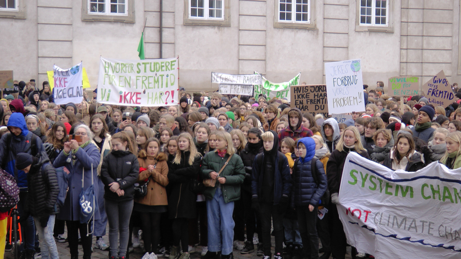 Kampen For En Fremtid – Skolestrejk For Klimaet