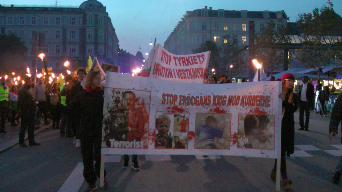 Nej Til Angreb Mod Kurderne Og Invasion I Syrien