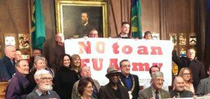 FredsCafe - EU's militarisering er ikke et fredsprojekt @ Støberiet | København | Danmark